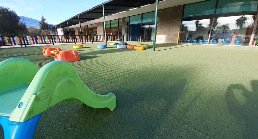 Patio exterior de la Escuela Infantil