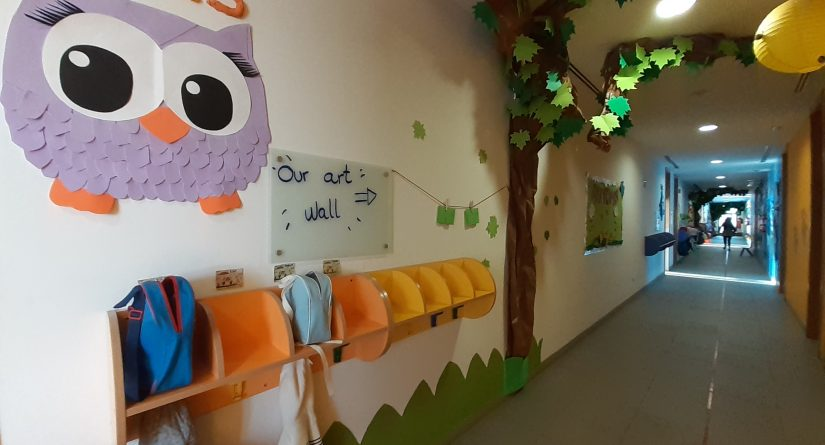 Pasillo de nuestra Escuela Infantil