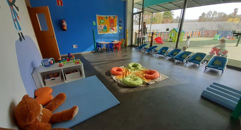 Aula de bebés de la Escuela Infantil