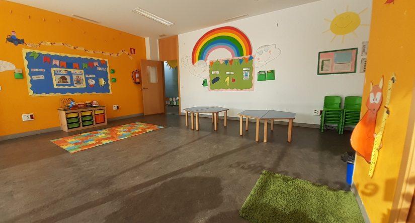 Aulas de la Escuela Infantil